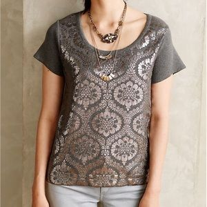 Anthropologie Drawing Room Pullover by Moth